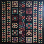 Donation Quilt: Amish Friendship Quilt