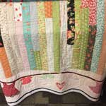 "First Place Small Quilts: ""Clothes Line"" by Glenda Shepherd, Blue Grove, TX"